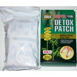 Bamboo Vinegar Super Detox Patch